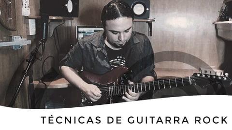 Técnicas de guitarra rock